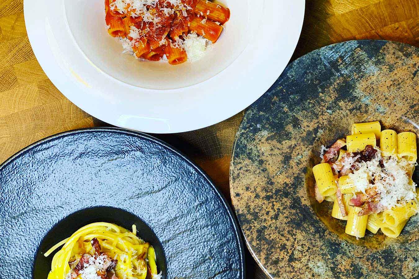 Pasta, le Fab Four della cucina romana: Cacio e Pepe, Carbonara, Gricia, Amatriciana