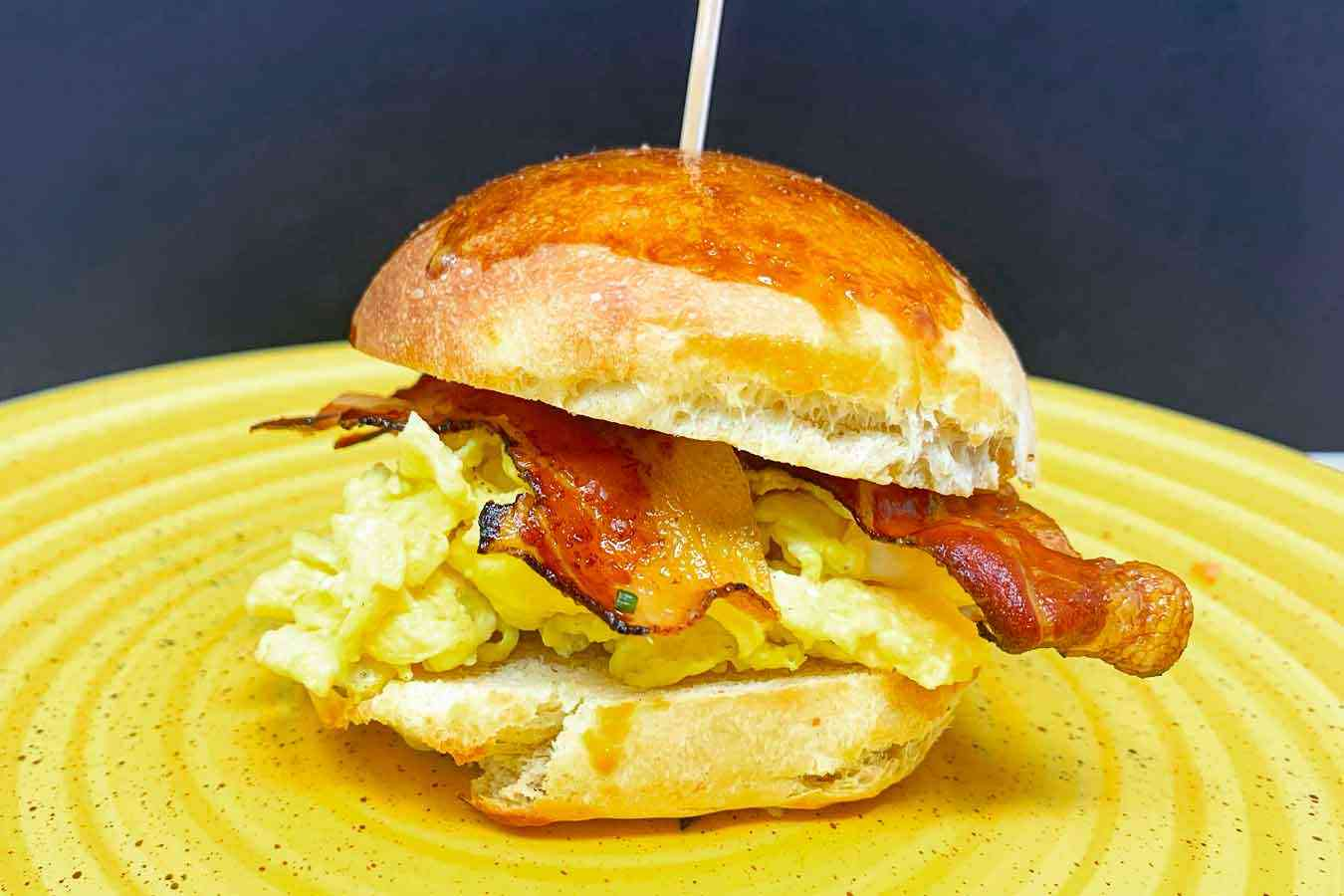 Egg and Bacon Sandwich