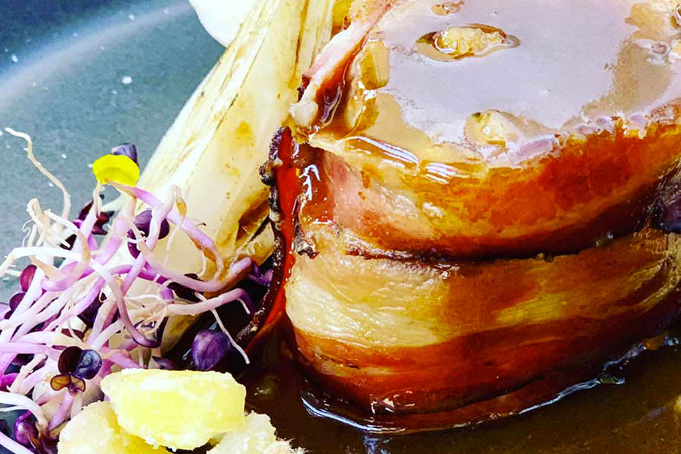 Filetto di maiale e castagne