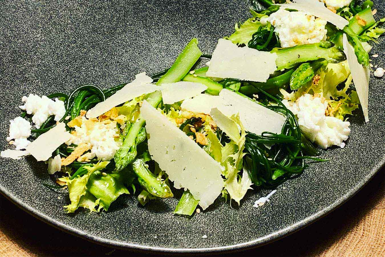 Insalata agli asparagi