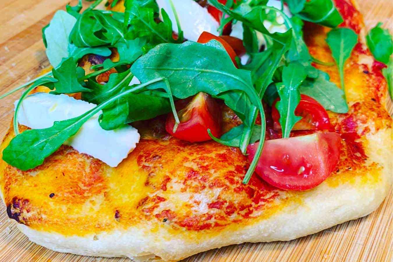 Pizza in teglia (ricetta impasto pizza Bonci)