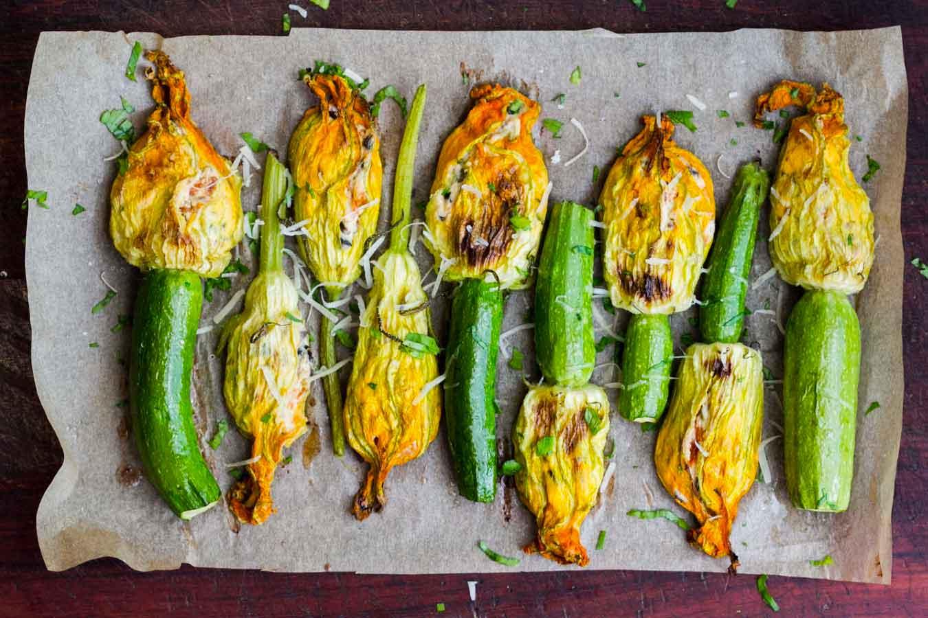 10 Ricette facili e veloci con le zucchine